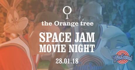 MOVIE NIGHT at the Orange tree / Space Jam