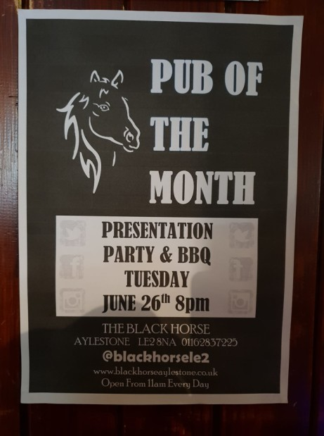 Pub Of The Month Presentation Party & BBQ!