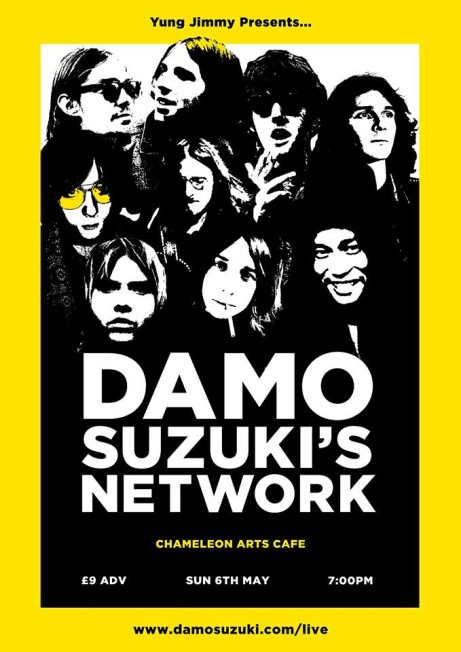Damo Suzuki - Support from Starwheel and Violet