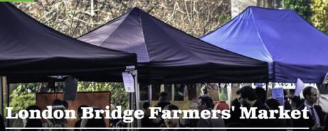 London Bridge Farmers' Market. Every Tuesday 9am-2pm