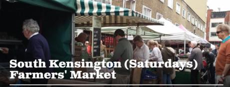 South Kensington Farmers' Market. Every Saturday 9am-2pm