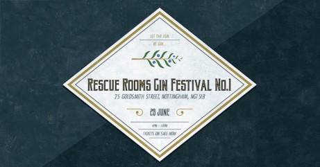 RESCUE ROOMS GIN FESTIVAL 2018