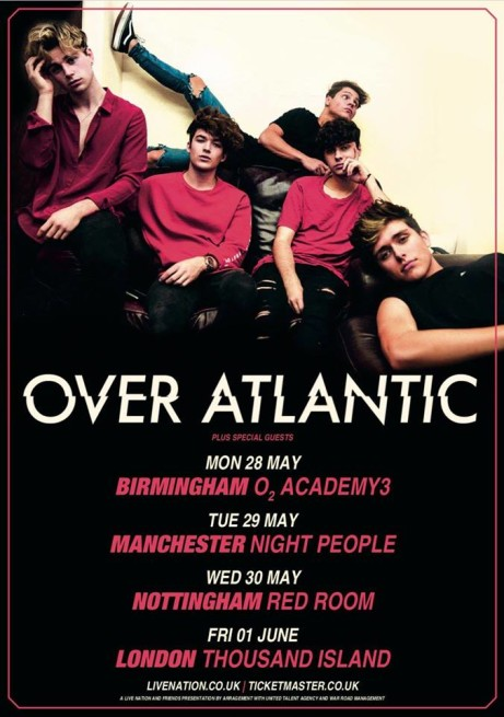 Over Atlantic (Red Room show)