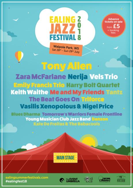 Ealing Jazz Festival 2018