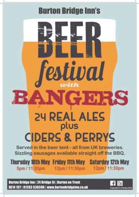 Burton Bridge Inn's Beer Festival