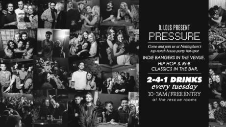 Pressure 22/05/18 - FREE Entry