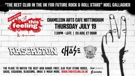 This Feeling - Nottingham w/ Rascalton, The Chase + The Ruffs