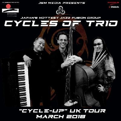 Cycles of Trio - 'CYCLE-UP' UK TOUR 2018 at Hare And Hounds