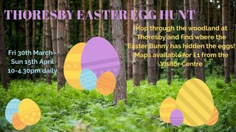 Thoresby Easter Egg Hunt