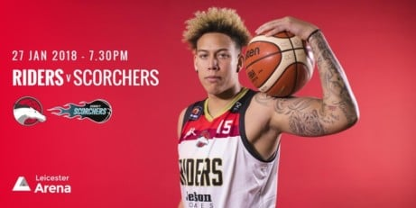 Leicester Riders v. Surrey Scorchers