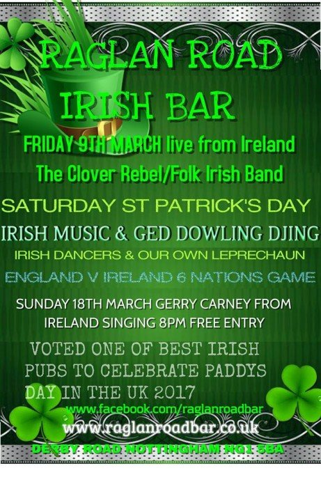 ST Patrick's DAY Weekend