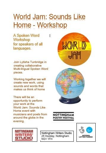 World Jam: Sounds Like Home Workshop