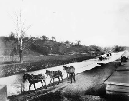 The Leicester Navigation through Belgrave