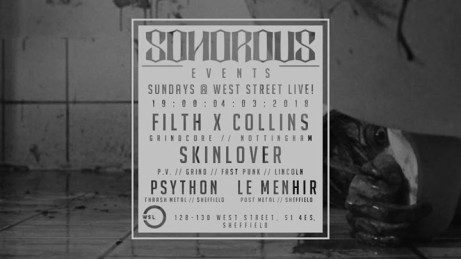 Filth x Collins, Skinlover, Psython & Le Menhir