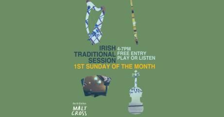 Irish Traditional Folk Sessions at the Malt Cross