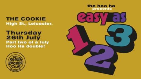 The Hoo Ha Record Club presents Easy As 123