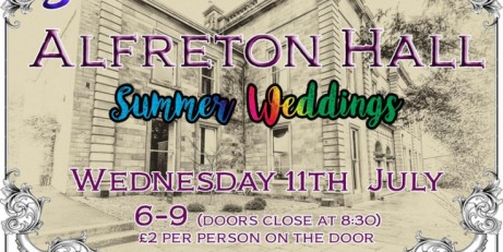 Alfreton Hall Spring Wedding Special