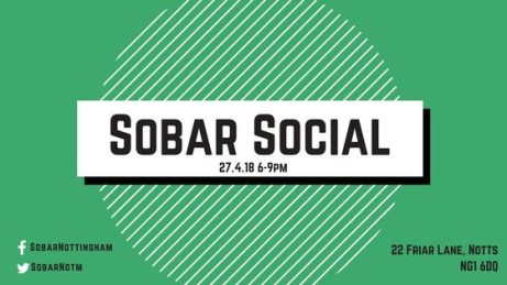 April's Sobar Social - FREE ENTRY
