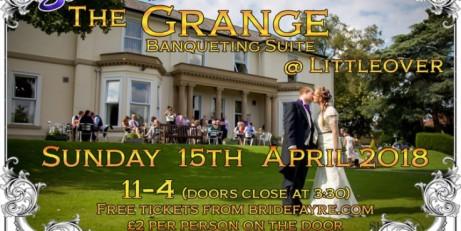 Spring Weddings at the Grange @ Littleover