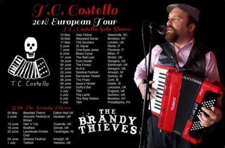 T.C. Costello's Tour Denouement at Duffy's Bar