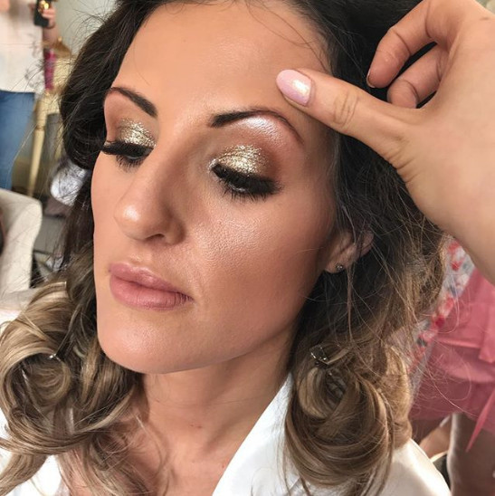 Bridal makeup, one of our favorite things to do... check out Danielle's from this week!