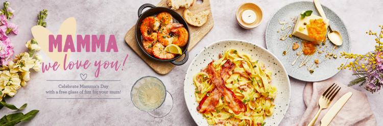 Mother's Day Restaurants - Bella Italia!