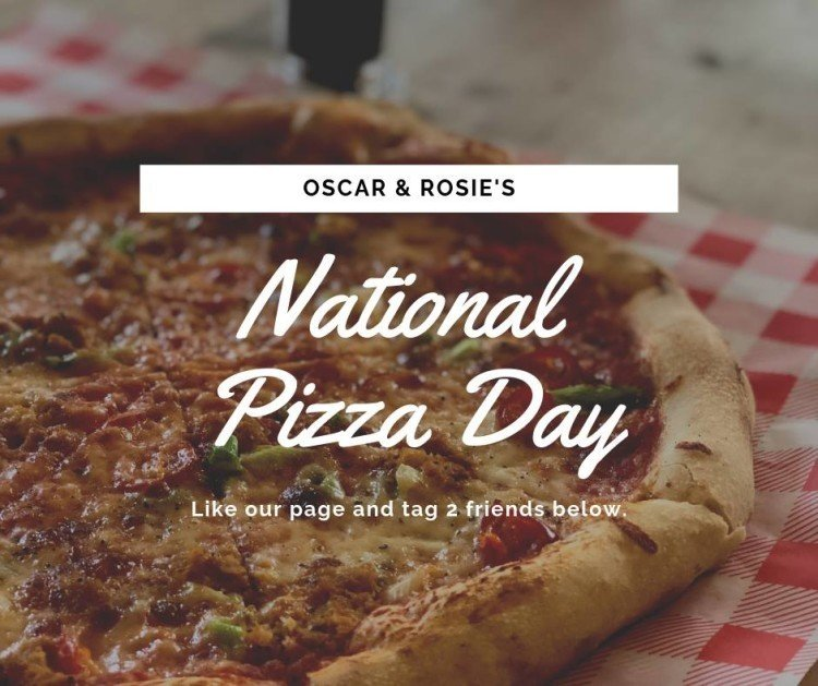 Join us for the BEST PIZZA IN NOTTINGHAM this National Pizza Day 2019!