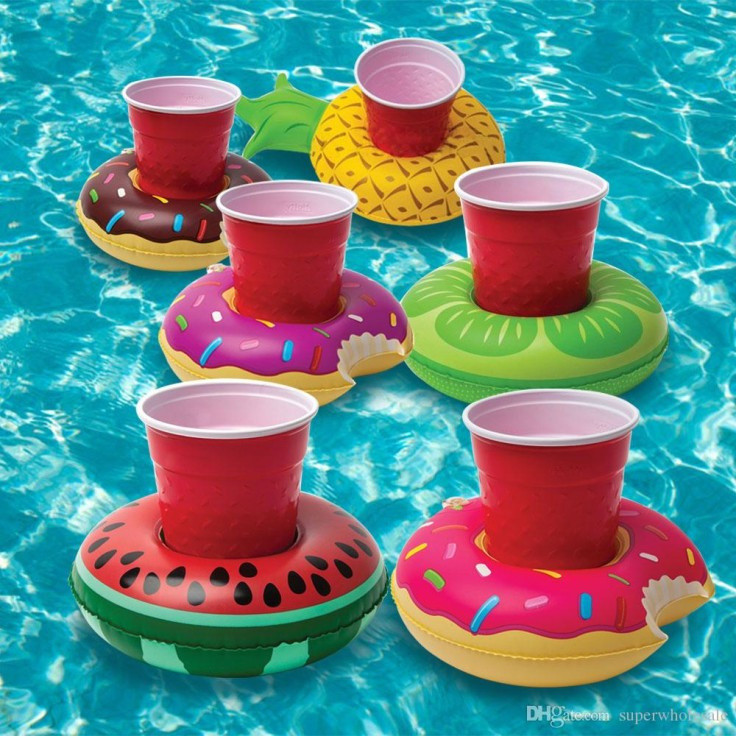 Big Mouth 3 Pack Fruit Ring Drink Floats: £9.99!