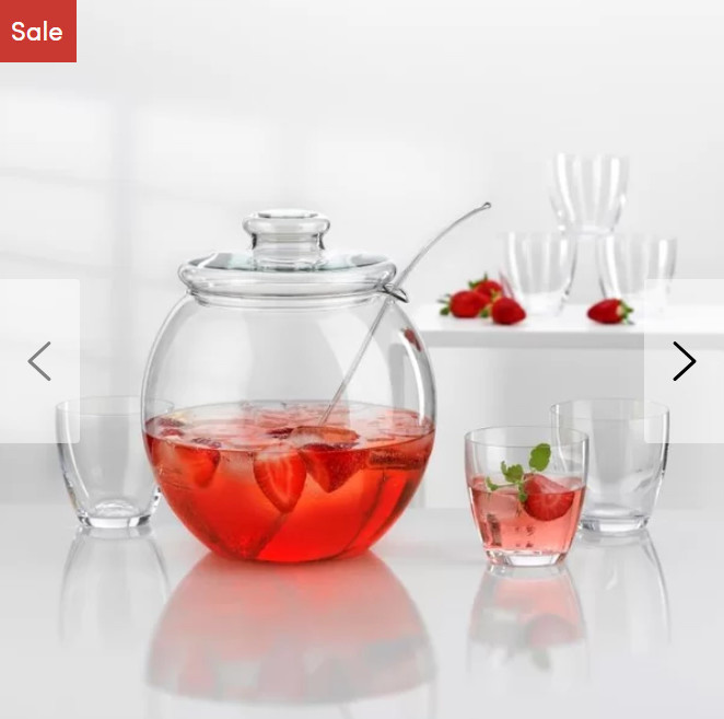 8 Piece Punch Bowl Set on Sale Now!