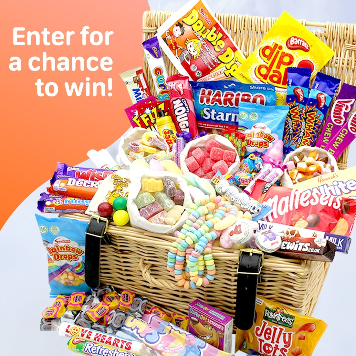 WIN this Mega Retro Sweets Hamper with a staggering 50 types of tuckshop classics!