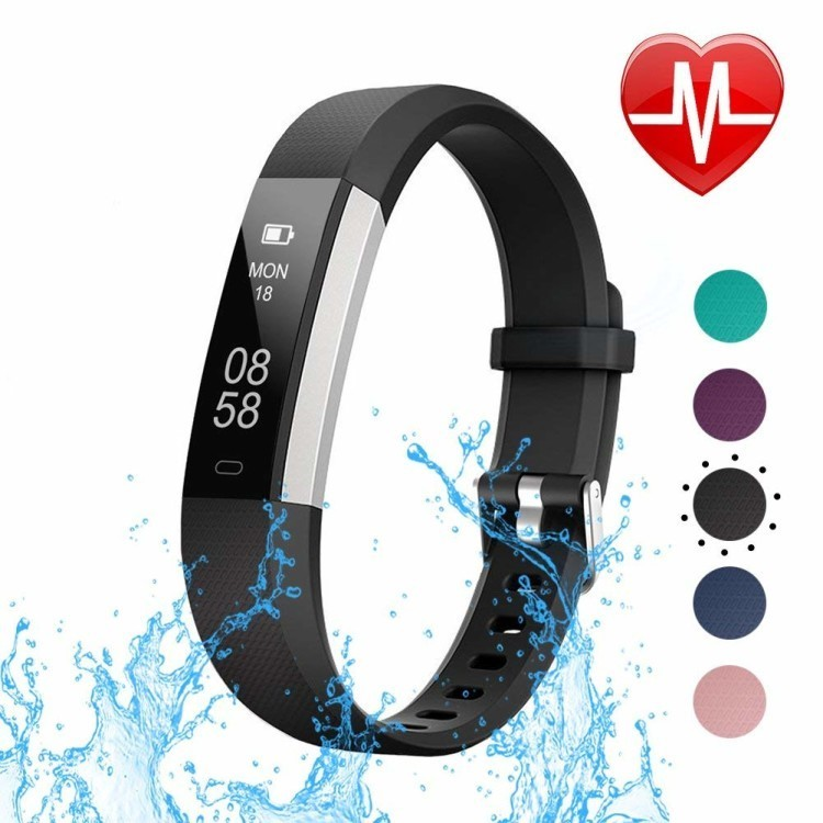WIN- LETSCOM Fitness Tracker with Heart Rate Monitor
