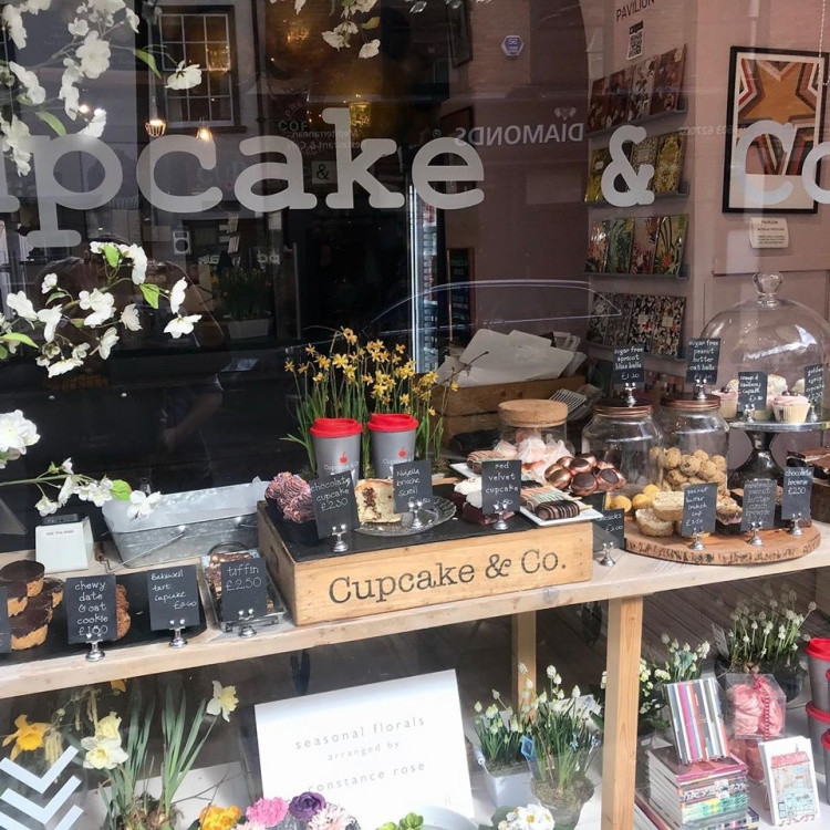 Trying to come up with as many ways as Cupcake & Co can to keep customers stocked with cake and coffee