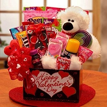 Valentine's Gift Ideas - The Candy Cabin make Gift Boxes with all types of sweets!