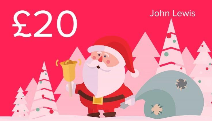 WIN - £20 John Lewis Gift Card