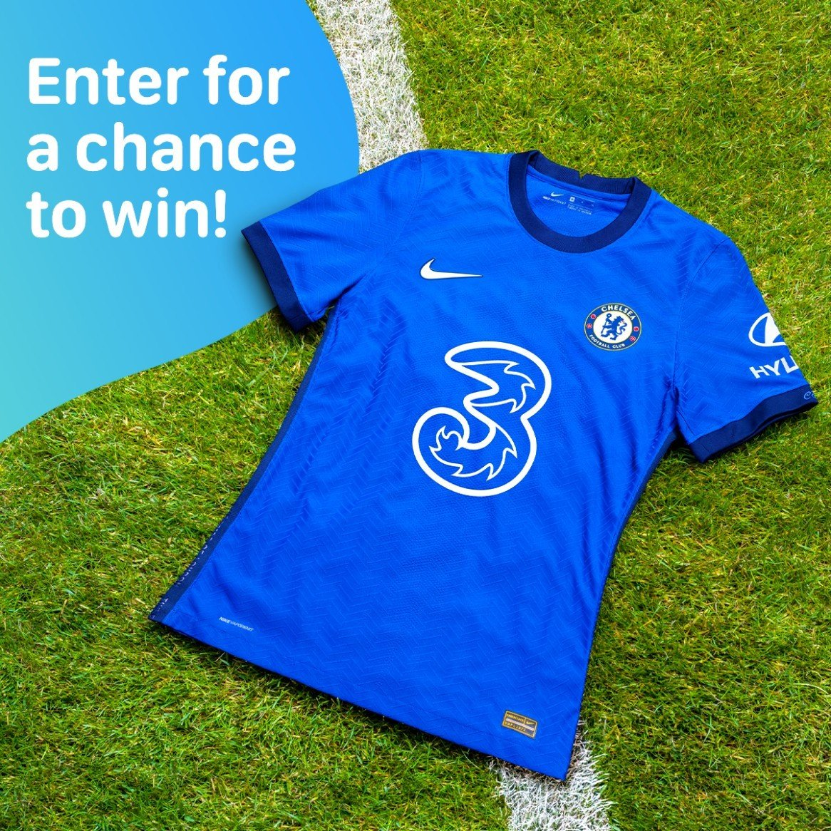 WIN -  Chelsea 2020-21 Home Kit