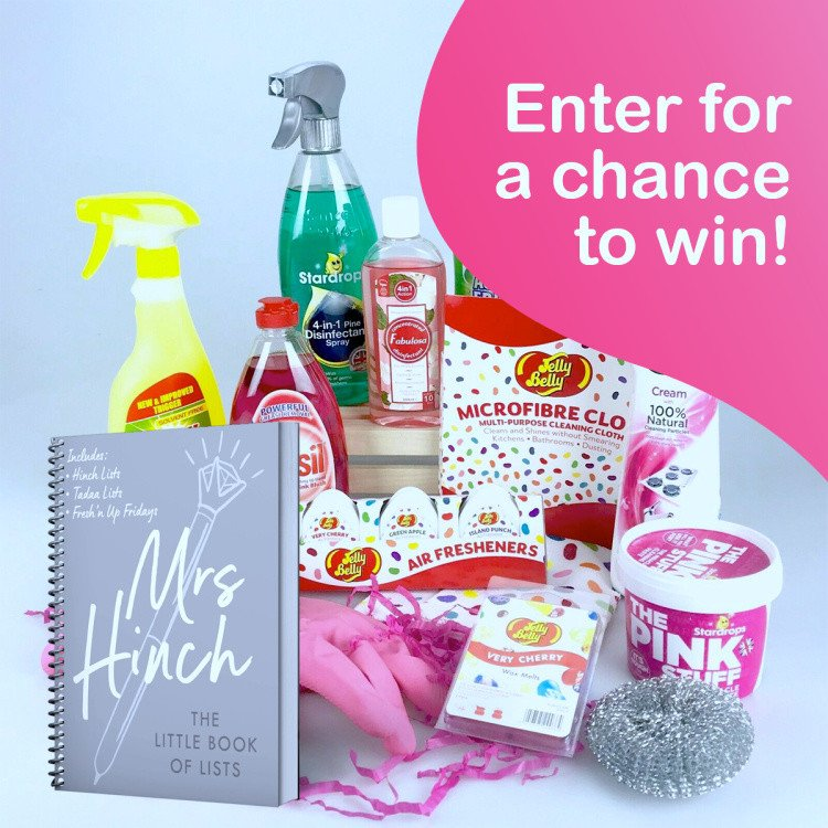WIN a Mrs Hinch Ultimate Cleaning Bundle + Her NEW Book 'The Little Book of Lists' Hardcover!