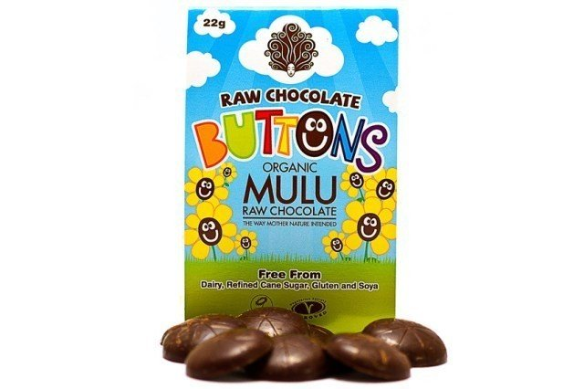 Organic Raw Chocolate Buttons - £1.20