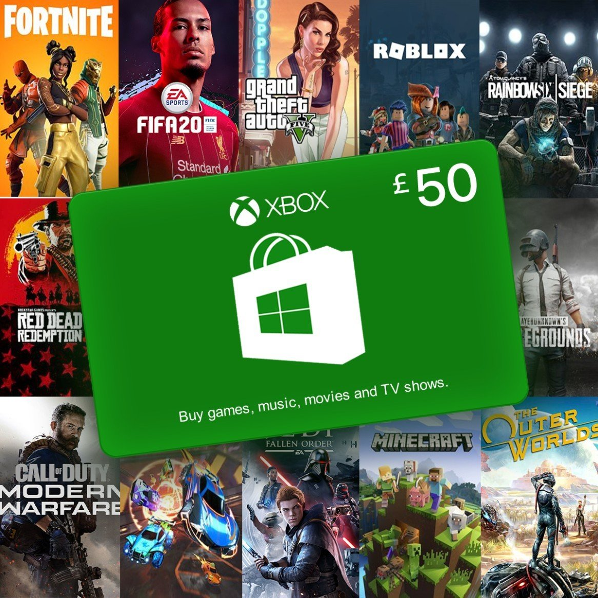WIN a £50 Microsoft Gift Card for Xbox One/Windows