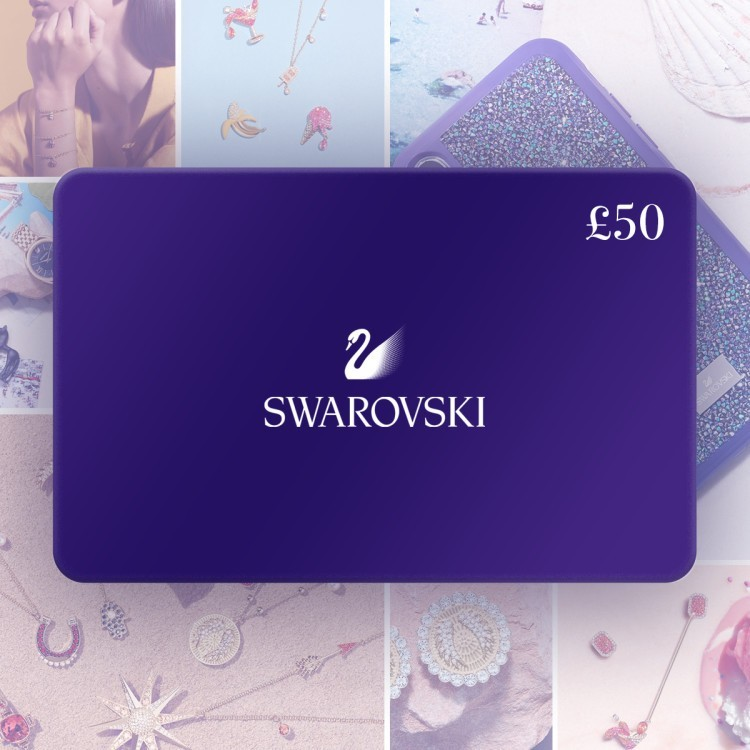 WIN a £50.00 Swarovski Gift Card!