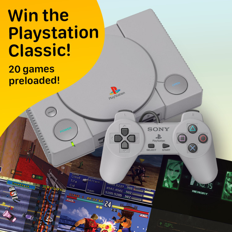 WIN- PlayStation Classic