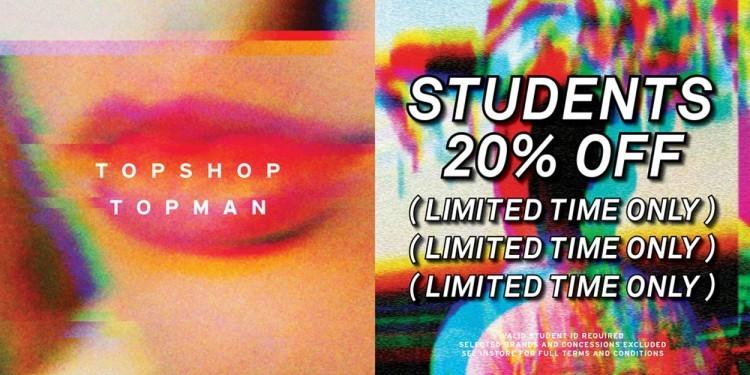 20% off student discount!