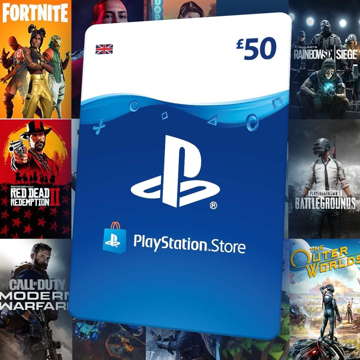 WIN - £50 Playstation Network (PSN) Gift Card