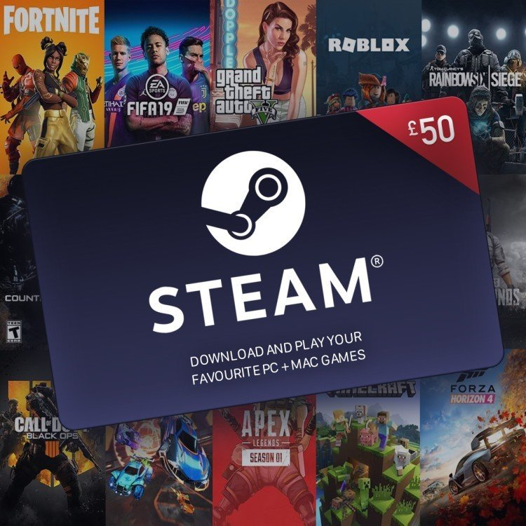 WIN - £50 Steam Voucher