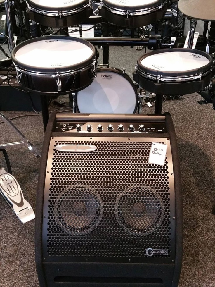 Looking for a bit more output for your electronic drums? Check out our Carlsbro EDA200S drum amp...