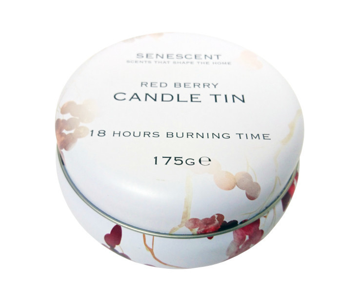 WIN - Red Berry Candle Tin