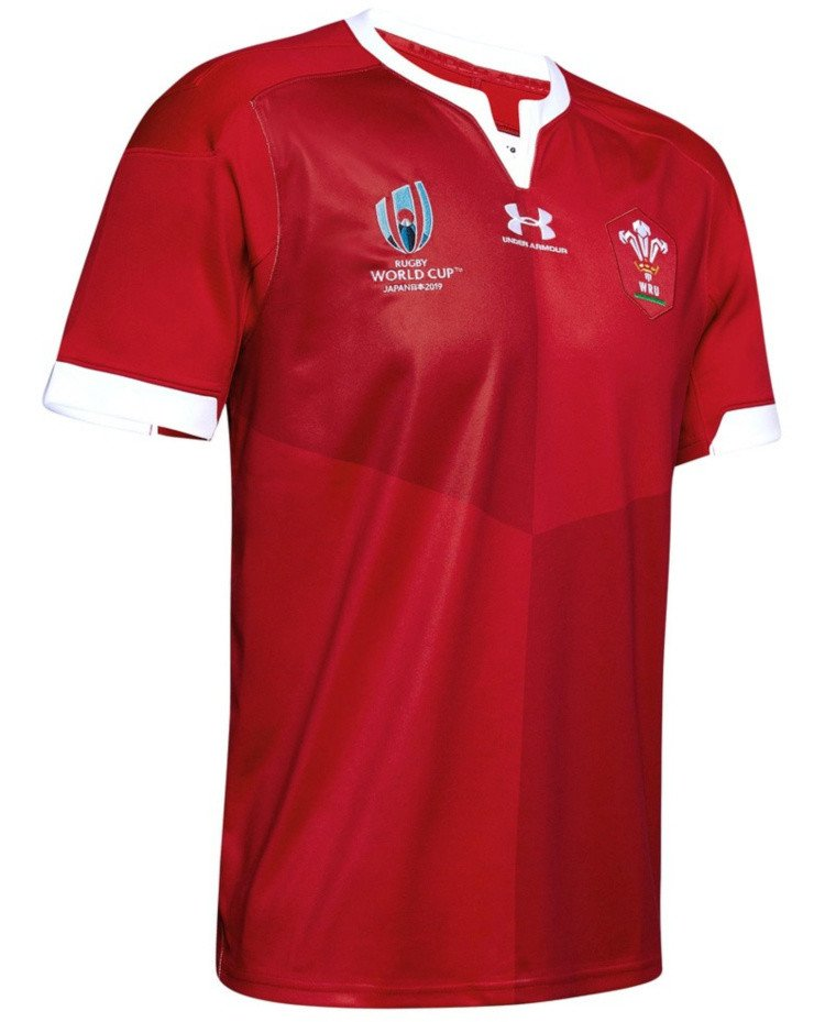 WIN- Wales Rugby RWC 2019 Home Jersey