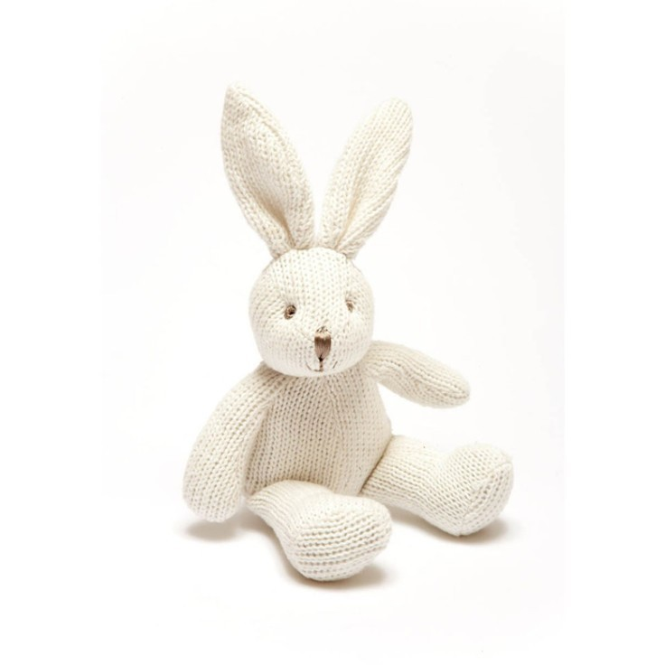 Cute Easter Gifts - Organic Cotton Bunny Rattle £8.99!