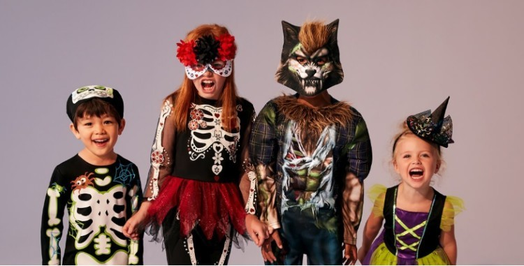 Last Minute Halloween Outifts - Day of the dead outfit from £10.00!