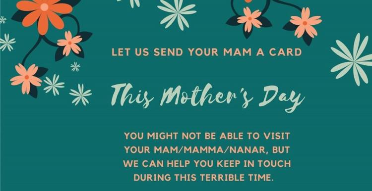 Mother's Day card sending service by dukki