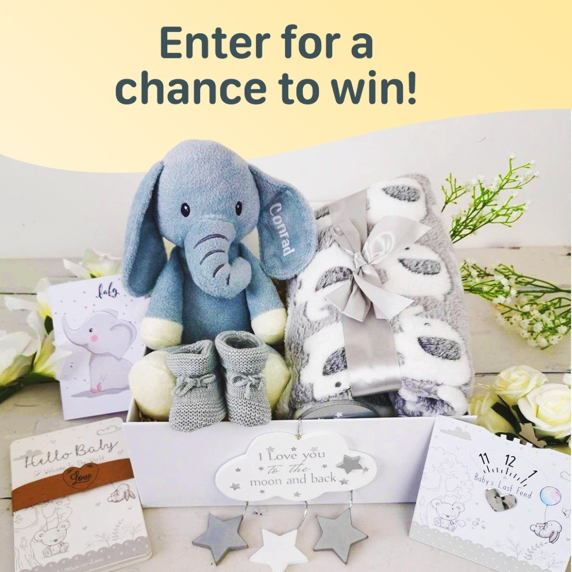 WIN this Personalised Baby Bundle